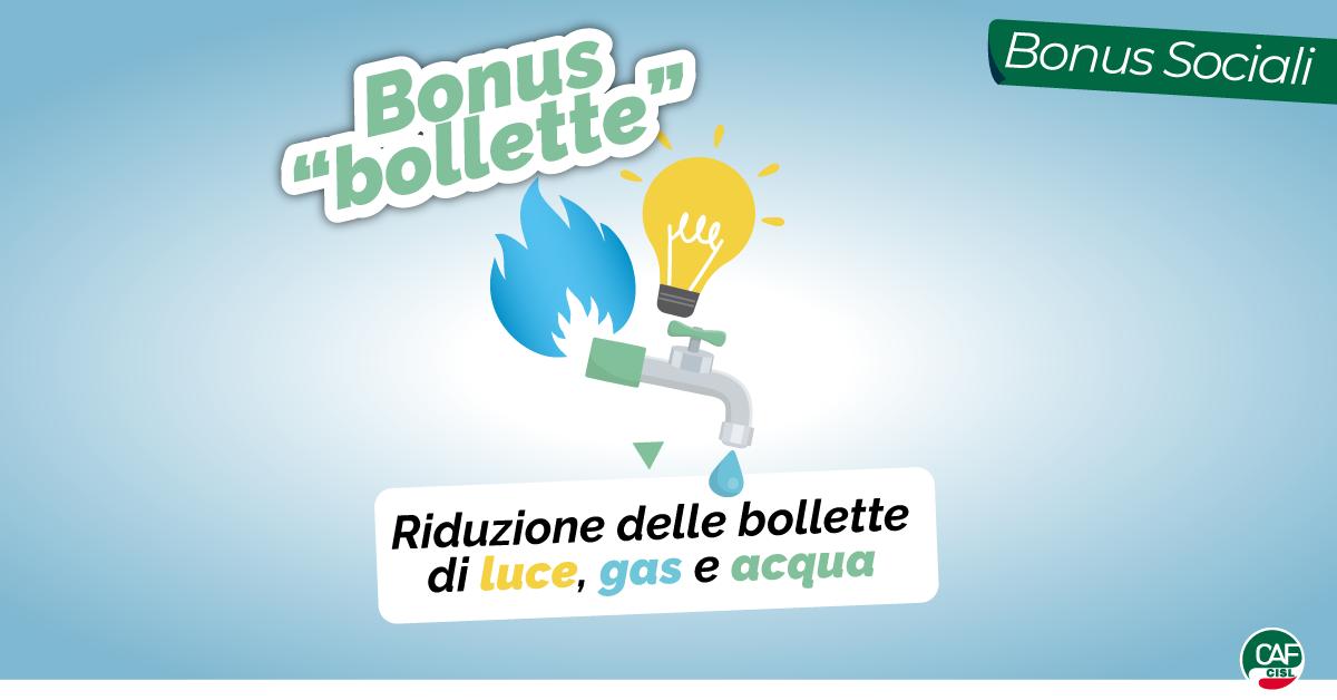 Al via i bonus automatici per luce, gas e acqua. Cosa c'è da sapere