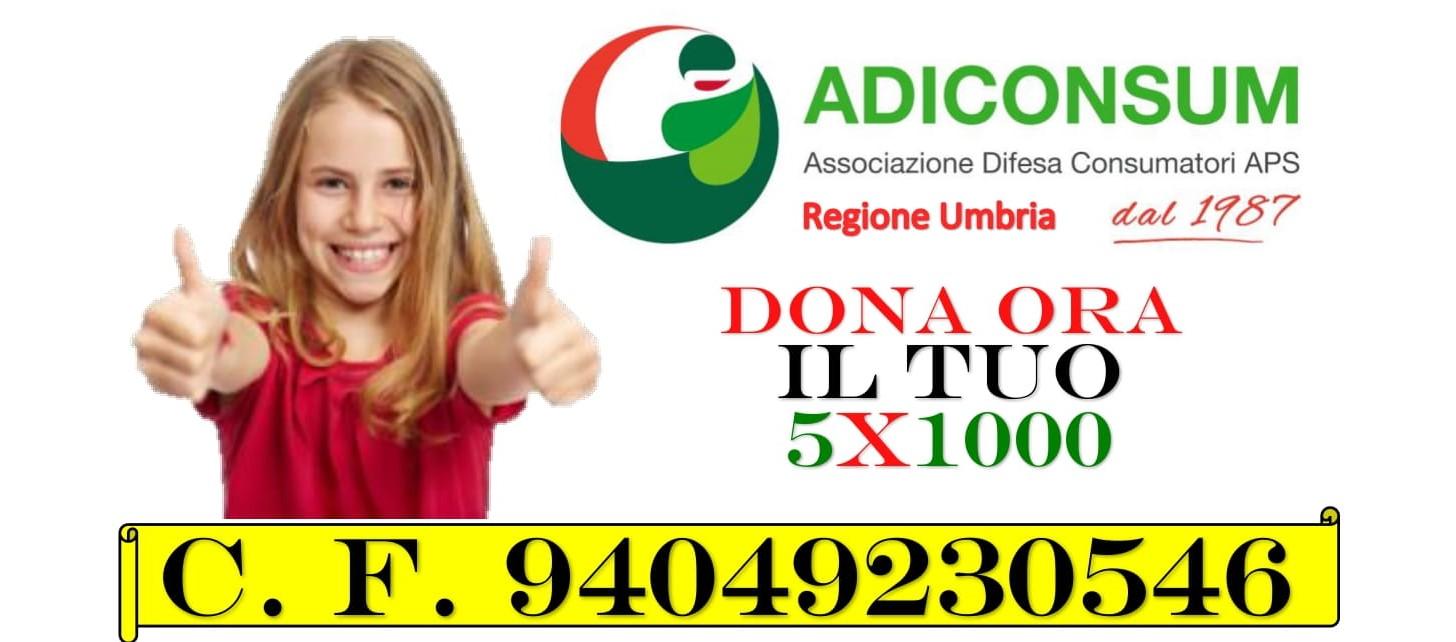 Read more about the article Dai voce ai tuoi diritti di consumatore: dona il tuo 5×1000